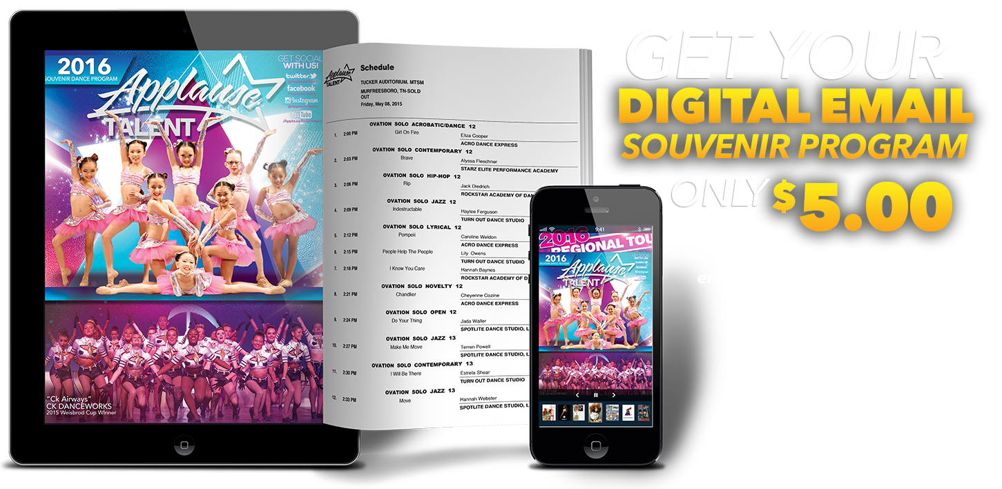 Digital Souvenir Program!